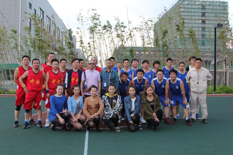 上海中剑VS上海超诚篮球友谊赛