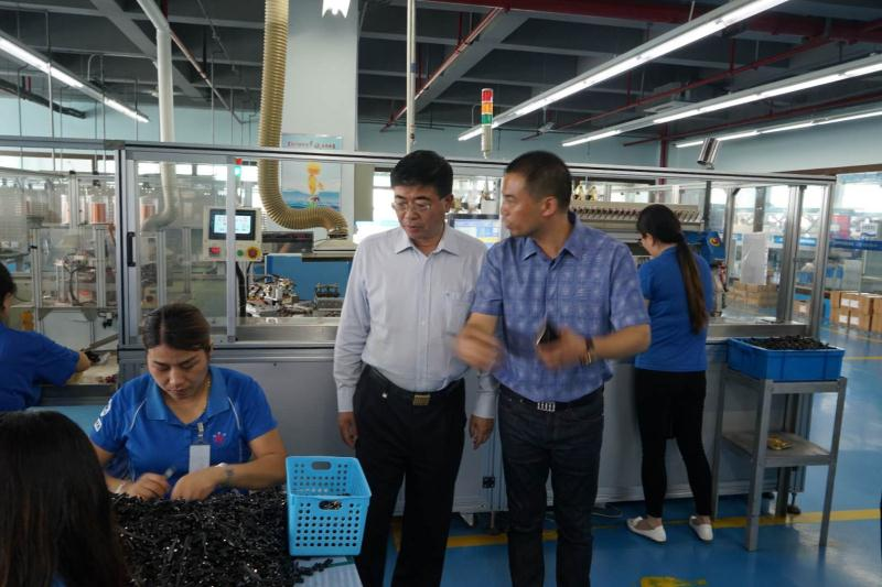 上海职工技术协会等领导莅临指导